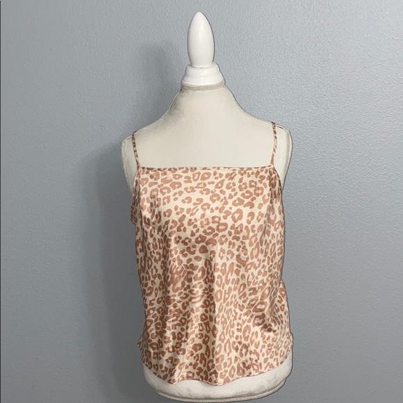 Victoria's Secret Other - Victoria's Secret Leopard Print Cami XL NWT
